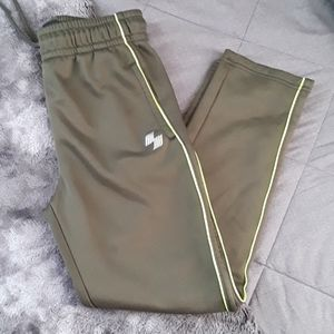 """NWOT """"Place Sport"""" Boys Army Green Joggers"""